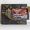 Фоторамка в подарок десантнику на день защитника Украины Военные сувениры с символикой ДШВ (ВДВ)
