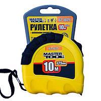 Рулетка MasterTool 10м., фото 1
