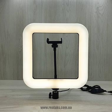 Многофункциональная квадратная LED лампа D35 Beauty Live Square Light 28 см, фото 3