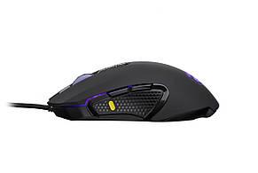 Мишка ігрова 2E Gaming MG310 LED USB Чорний, фото 2