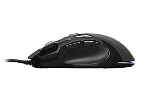 Мишка ігрова 2E Gaming MG320 RGB USB Чорний, фото 2