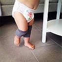 Наколінники для малюків антиковзні H-Сірі 0550, фото 2