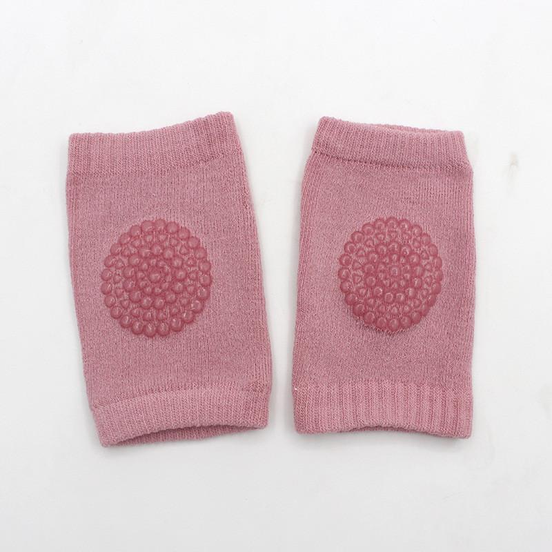 Наколенники для малышей антискользящие H-0550 Розовые