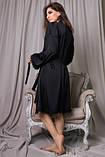 Комплект для сна халат и ночная рубашка, фото 5