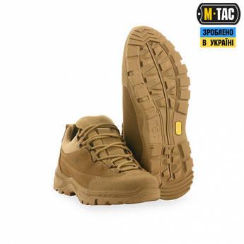 Кроссовки мужские тактические M-TAC PATROL R COYOTE, 40 р, обувь тактическая, кроссовки M-TAC, обувь M-TAC