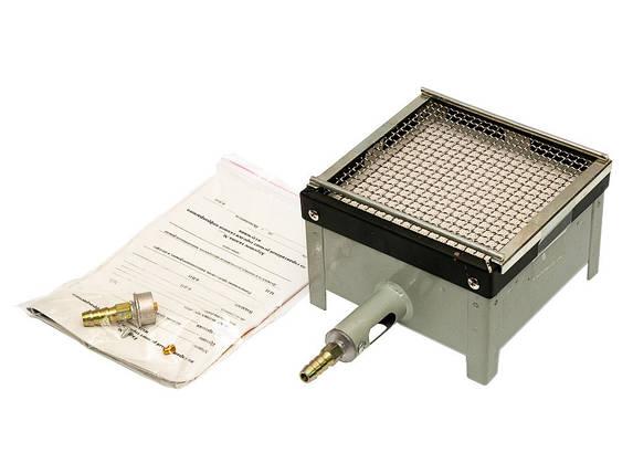 Газовая горелка туристическая ГИК-2,5 кВт обогреватель, фото 2