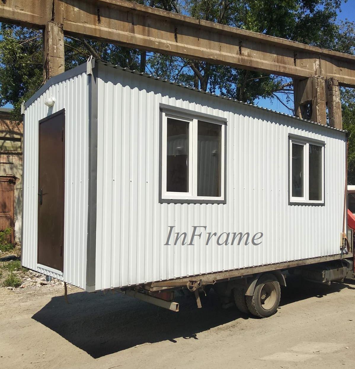 Бытовка 2 комнаты / 2 отдельных входа / Производство