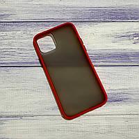 Чехол Matt Case Apple iPhone 11 Красный