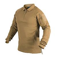 Поло Helikon-Tex® з д/рукавами RANGE Polo Shirt Coyote, фото 1