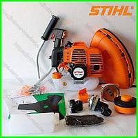 Мотокоса STIHL FS 250 (1,6 кВт, 2х тактный). Бензокоса Штиль. Коса штиль. Триммер. Бензотриммер.