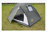 Двухместная палатка Green Camp 1001А, фото 2