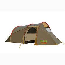 Трехместная палатка Green Camp X-1017