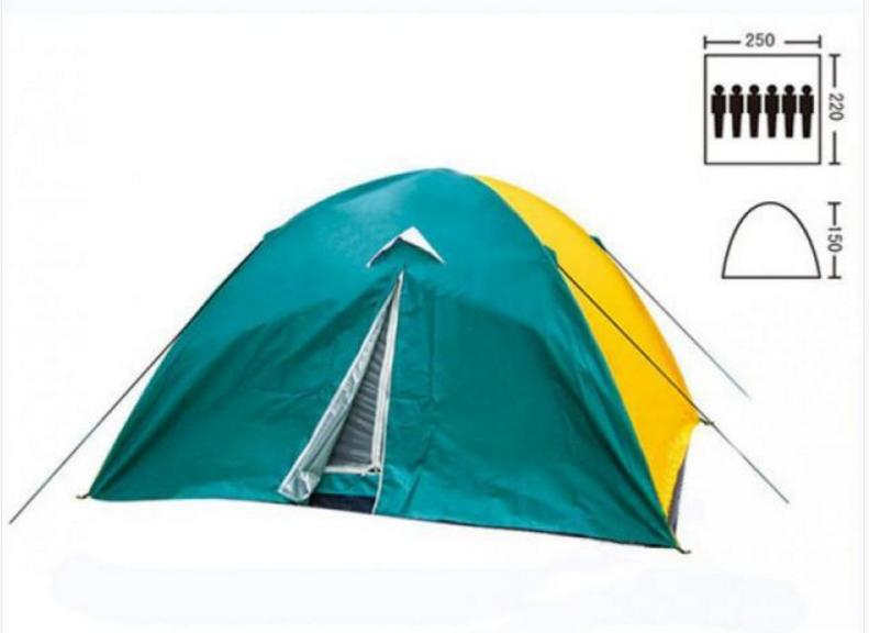 Палатка туристическая 6-ти местная Zelart SY 021