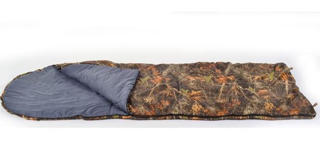 Спальник одеяло,синтепон,цвет хаки,синий 220*73 VP482250