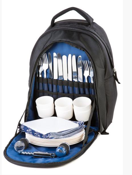 Рюкзак для пикника Green Camp 6 персон 0979
