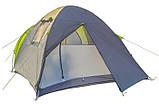 Трехместная палатка Green Camp 1011-2 (2 входа), фото 7