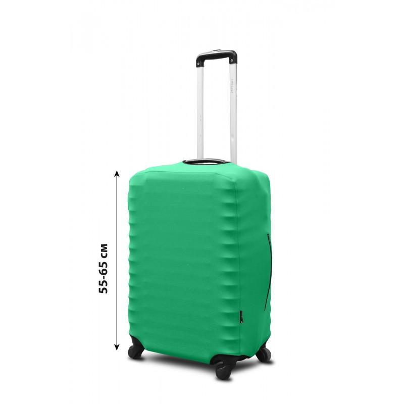 Чехол для чемодана Coverbag неопрен  M мята