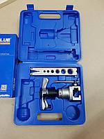 Набор для обработки труб VALUE VFT 809 -I ( вальцовка с эксцентриком, одна планка ) трещотка