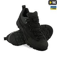 Кроссовки тактические M-TAC PATROL R Black, обувь тактическая, кроссовки M-TAC, обувь мужская удобная