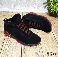 Мужские зимние ботинки на шнурке