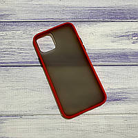 Чохол Matt Case Apple iPhone 11 Pro Max Червоний