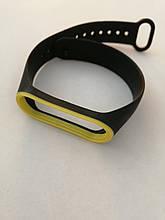 Ремешок Xiaomi Mi Band 3/4 Black-yellow