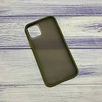 Чохол Matt Case Apple iPhone 11 Pro Max Хакі