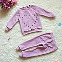 Детский костюм Сердечко для девочки 86-128, фото 2