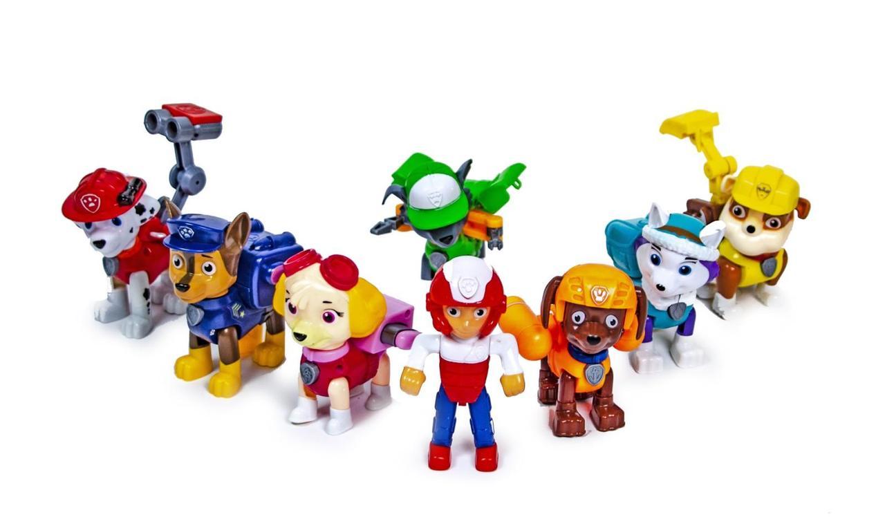Детский игровой набор DOG SWAT Щенячий Патруль Герои-спасатели (8 в 1)