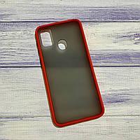 Чехол Matt Case Samsung Galaxy M30s (2019) Красный