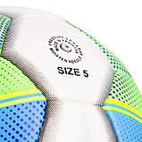 Мяч футбольный №5 PU ламин. DERBYSTAR STRATOS PRO Replica FB-2152, фото 3