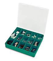 Органайзер Tayg 33-15 Estuche 21,5x20,7x4,2 см для хранения мелочей пластиковый зелёный (008009)