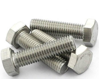 Болт под ключ DIN 933         8x12 (200 шт /упак) с шестигранной головкой полная резьба , фото 2