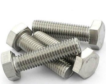Болт под ключ DIN 933         8х25 (200 шт /упак) с шестигранной головкой полная резьба , фото 2