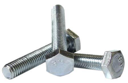 Болт под ключ DIN 933         8х60 (100 шт /упак) с шестигранной головкой полная резьба