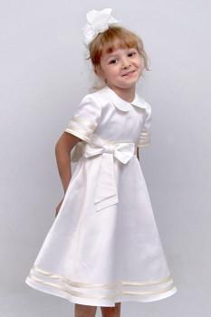 """Сукня святкова дитяче з атласу М -2097 зростання 110тм """"Попелюшка"""""""