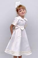 """Платье нарядное детское из атласа  М -2097  рост 110тм  """"Попелюшка"""", фото 1"""