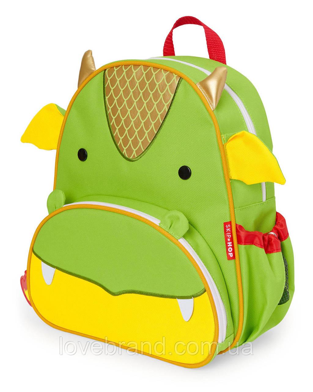 """Детский рюкзак SkipHop """"Дракон"""", рюкзачок для мальчика от 3-х лет Скип Хоп"""