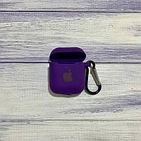 Чехол Silicone Case для Apple AirPods 1/2 Ultra Violet