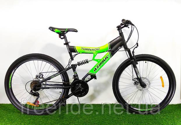 Двухподвесный Велосипед Azimut Tornado 26 D (19), фото 2