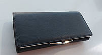 Жіночий шкіряний гаманець Balisa 1-827 чорний Шкіряні гаманці оптом Одеса 7 км, фото 4