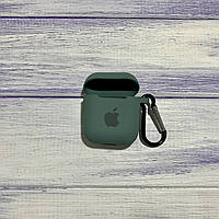 Чехол Silicone Case для Apple AirPods 1/2 Blackish Green