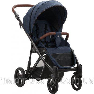 Детская прогулочная коляска Bebetto Rainbow 03 Синий / Черная рама