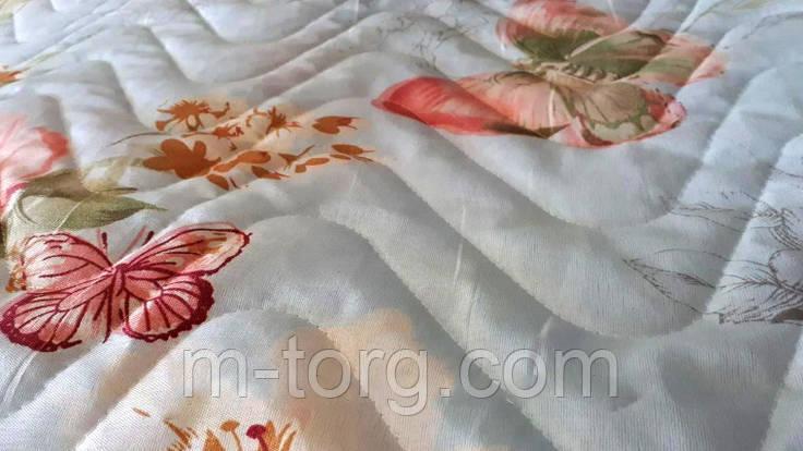 """""""Бабочки"""" Летнее одеяло покрывало двуспальный размер 175/210, фото 2"""