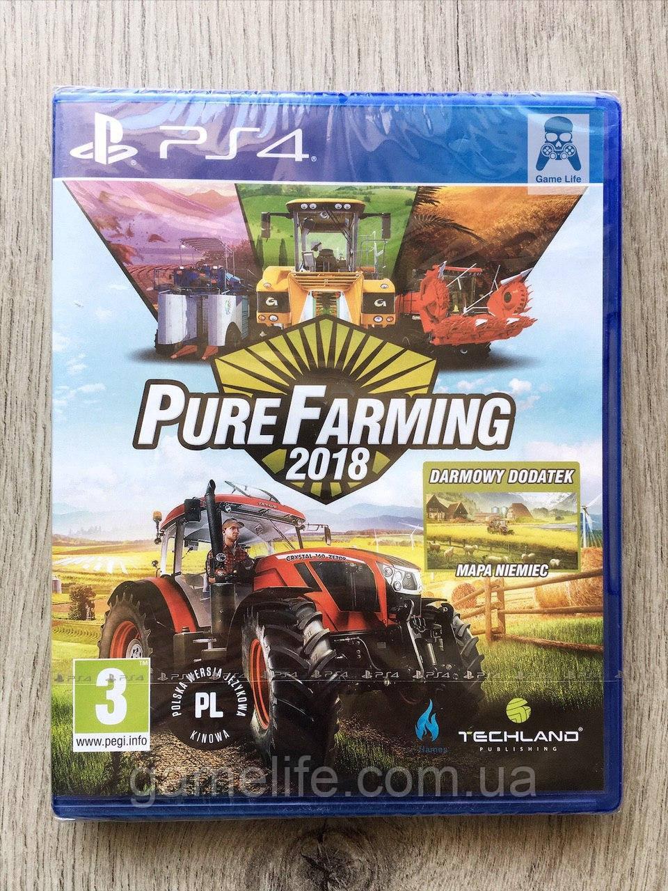 Pure Farming 2018 (англ.) PS4