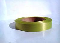 Оливковая лента полипропиленовая для упаковки цветов и подарков