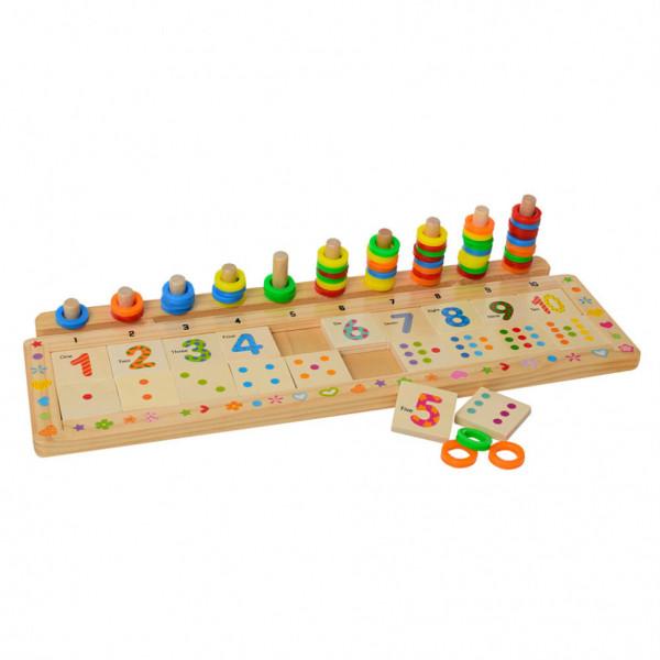 Деревянная игрушка Набор первоклассника MD 1313