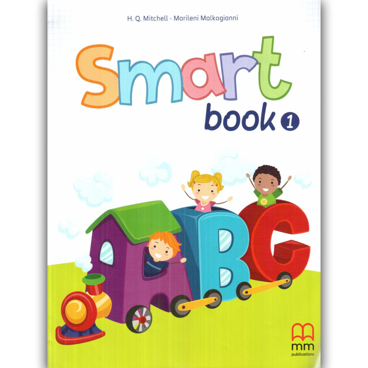 Зошит Англійська мова 1 клас Smart Book Авт: Mitchell H. Вид: MM Publications