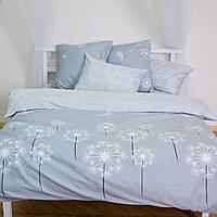 Комплект постельного белья двуспальный 2 спальный сатин (набір постільної білизни двоспальний), фото 1