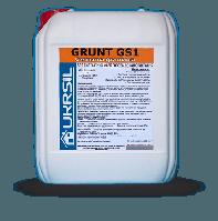 Грунт силикатный глубокого проникновения для пористых  минеральных поверхностей GRUNT GS-1 10 л